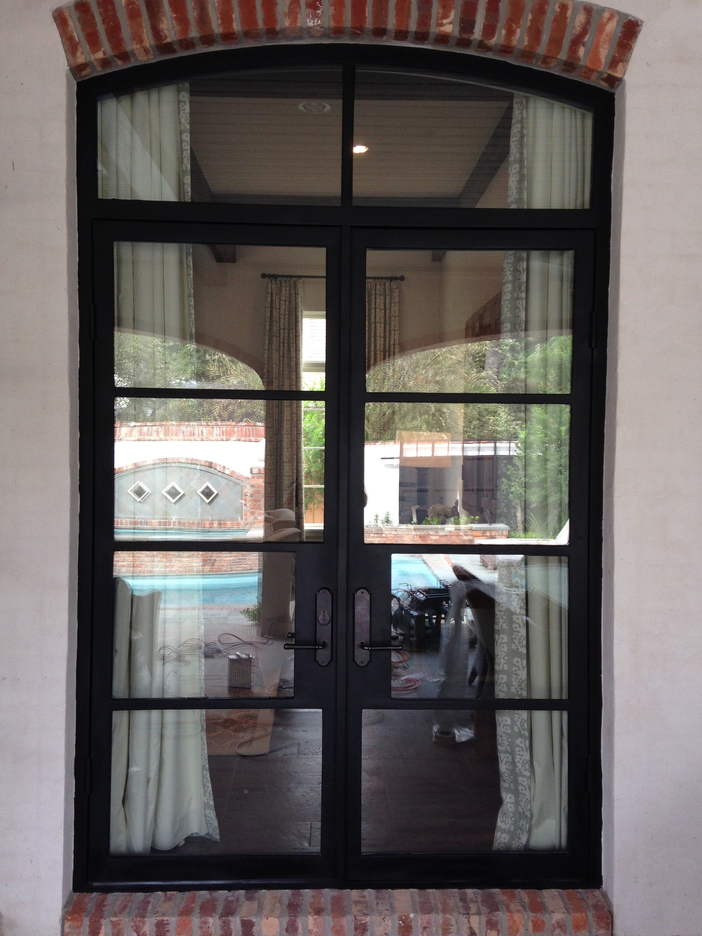 French Exterior Doors Steel: In-Stock Iron Doors L Iron Doors Plus L Handcrafted Iron Doors