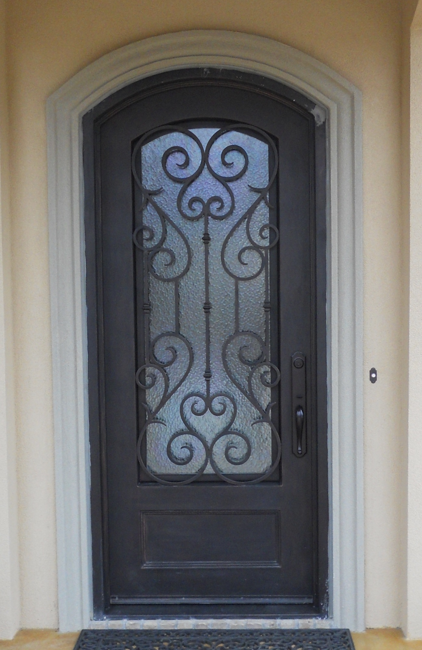 32-saunders-42-x-96 & In-Stock Iron Doors l Iron Doors Plus l Handcrafted Iron Doors