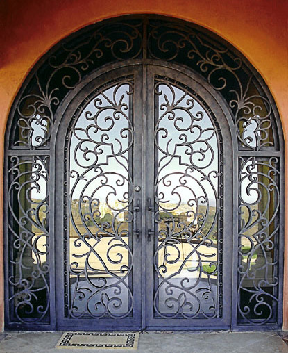Detailed Iron Door