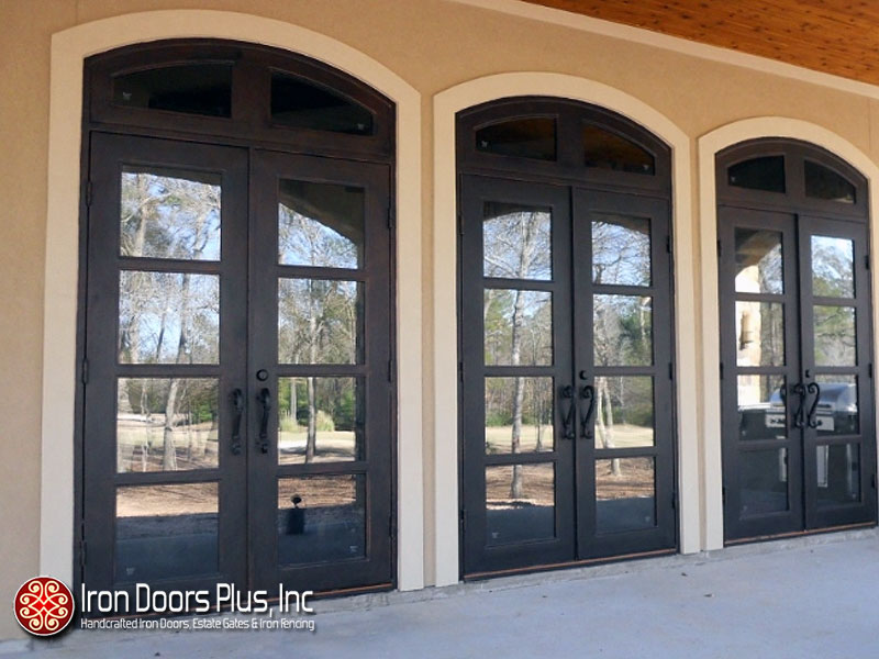 & Metro Steel Doors Are Perfect For An Updated Modern Home