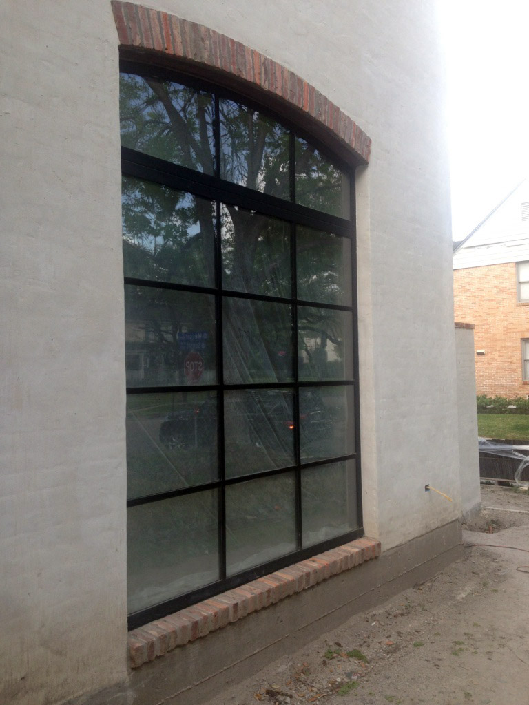 Metro Steel Window Installation