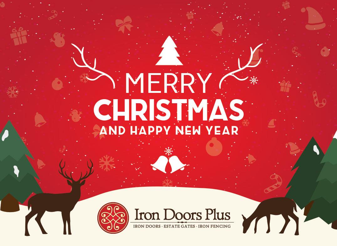 Merry Christmas From Iron Doors Plus!