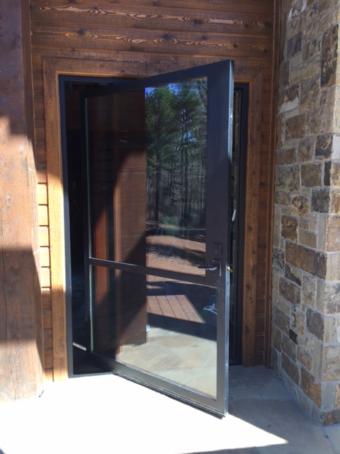 Custom Pivot Door Iron Doors Plus Inc