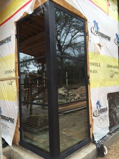 Modern Corner Window Installation In Waco Tx