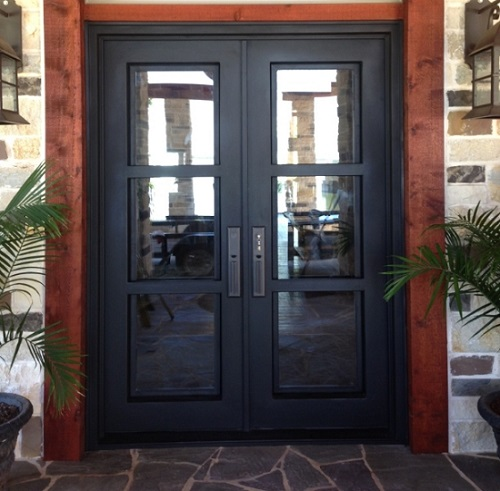 Install Iron Entry Doors To Make A Great First Impression