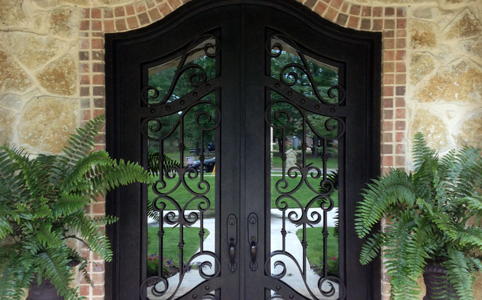Choose A Wrought Iron Door For Beauty And Durability