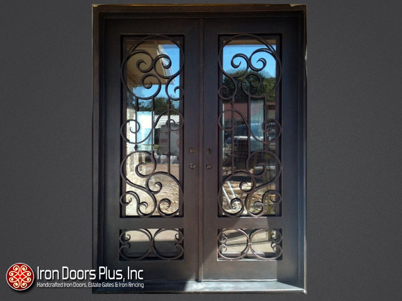 Wrought Iron Door Designs to Foreshadow the Décor