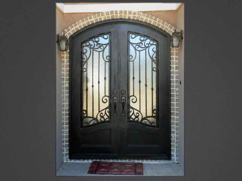 3 Homeowner Benefits of Iron Front Doors