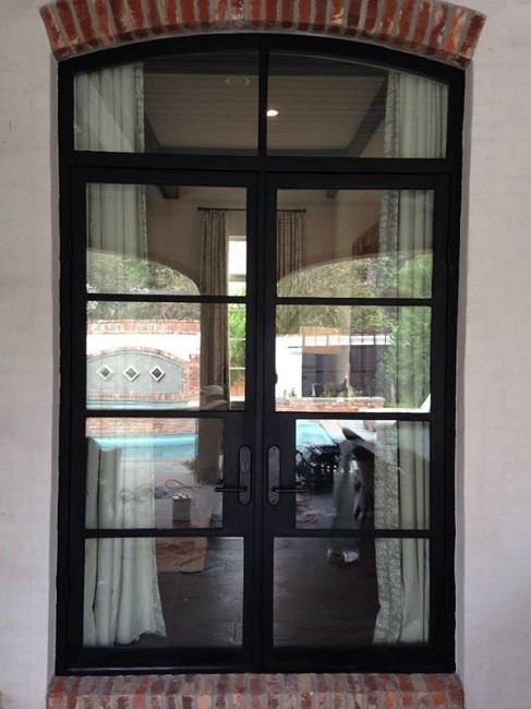 Iron Doors Create A Look Beyond Compair