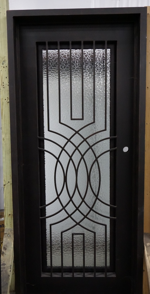 The Right Type Of Glass For Your Iron Entry Doors