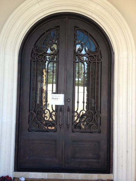 The Stately Elegance of Iron Entry Doors