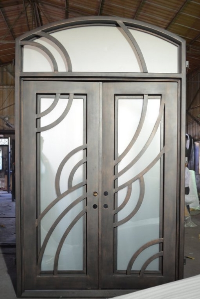 Top 4 Merits of Installing Iron Front Doors in Your Home
