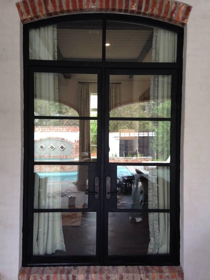 Cleaning Metro Steel Doors